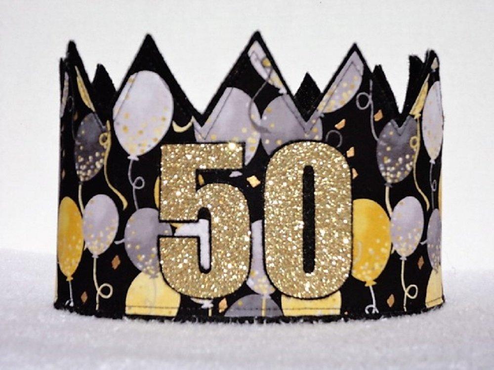 Adult 50th Birthday Crown