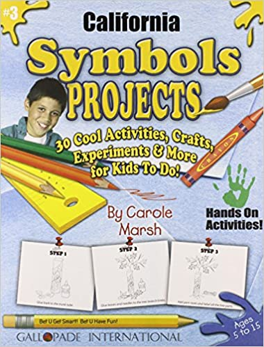 Amazon California Symbols Projects 30 Cool Activities Crafts