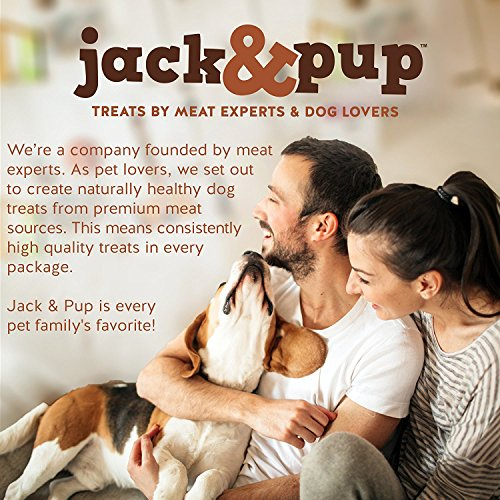Jack&Pup Premium Grade Odor Free Bully Bites Dog Treats, (2 Lb. Value Pack) - All Natural Gourmet Dog Treat Chews - Fresh and Savory Beef Flavor