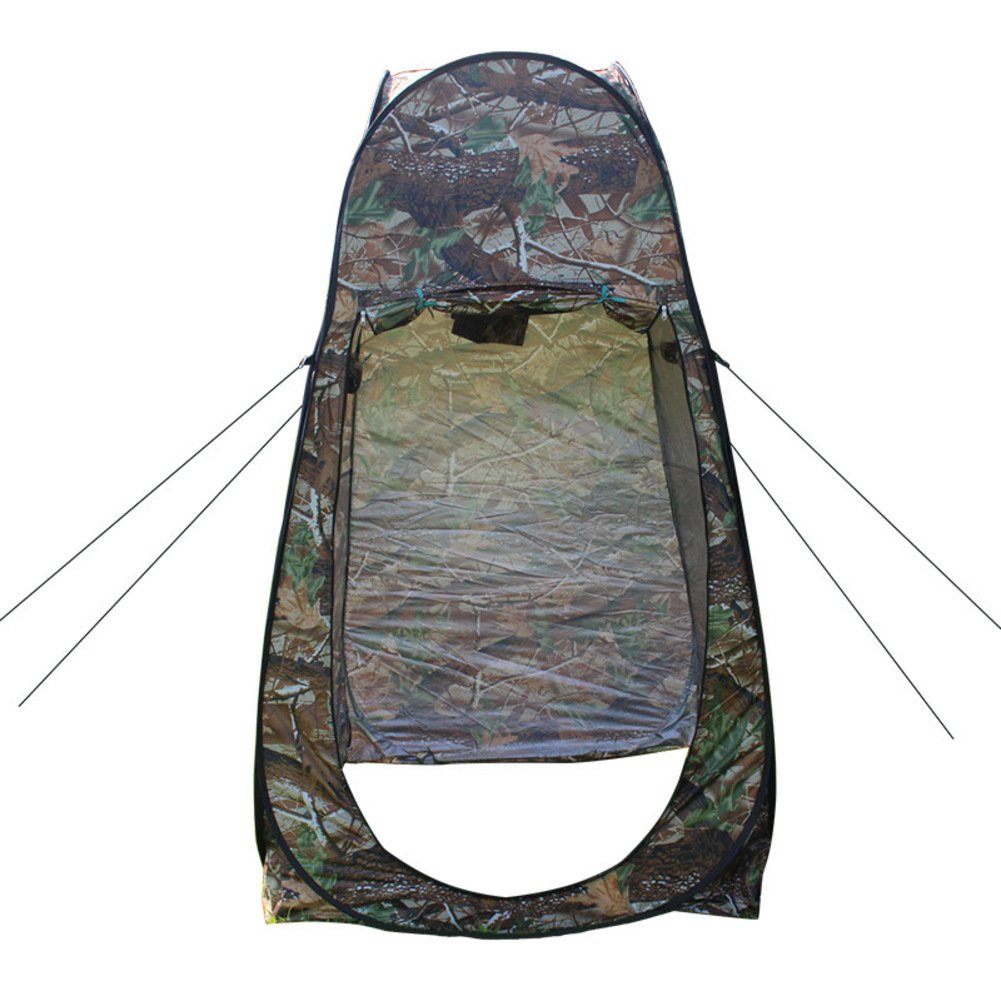 Fptcustom 1 Person Reisen Campingzelt, Outdoor Supplies Verlässt Camo Dressing Zelt Bad Mobile Wc Wasserdichten Zelt