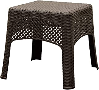 product image for Adams Manufacturing 8071-60-3731 Woven Side Table, Earth Brown