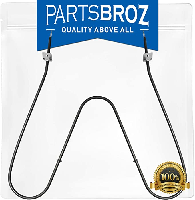 316075104 Bake Element for Frigidaire & Electrolux Ovens by PartsBroz - Replaces Part Numbers AP2125026, 316075104, 316282600, 09990062, 316075100, 316075102, 3203534, F83-455