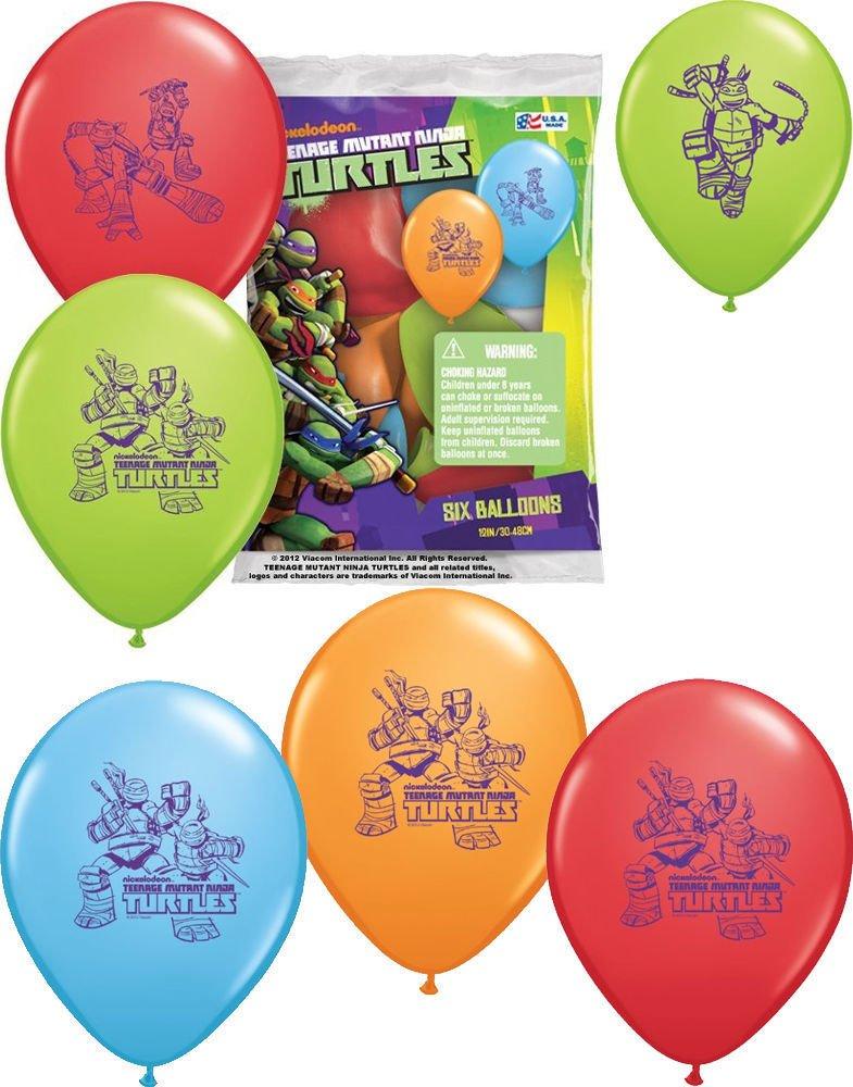 Amazon.com : TEENAGE MUTANT NINJA TURTLE Balloons Birthday ...