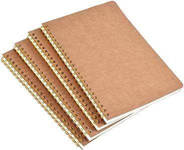 4 páginas horizontales A5, cuadernos, cuadernos de notas