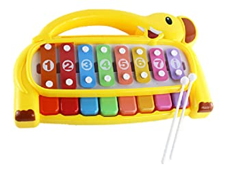 Musical Toys For 1 Year Olds : Happy small xylophone children hand knock piano baby baby music toys