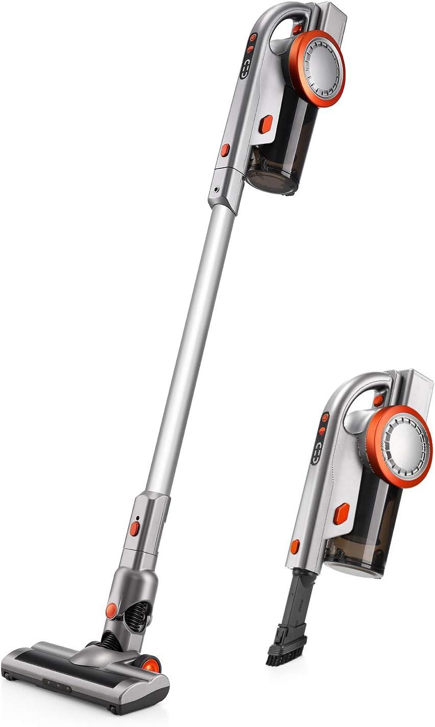 PUPPYOO A9 Aspiradora de Mano sin Cable de Gran Succión Aspirador Recargable con Batería de Litio: Amazon.es: Hogar