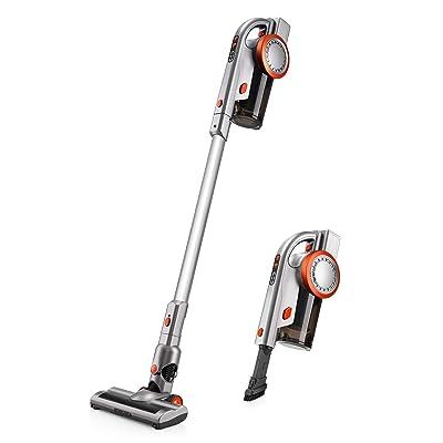 PUPPYOO A9 Cordless Vacuum Cleaner, Stick Handh...