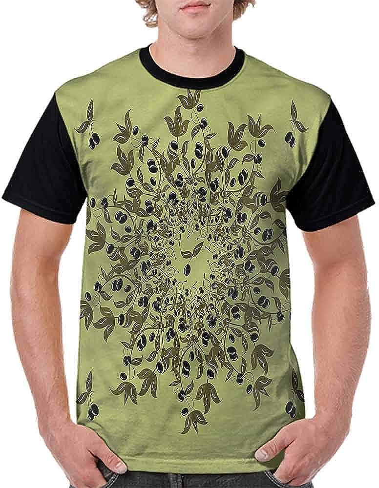 Trend t-Shirt,Sacred Geometry Blossoms Fashion Personality Customization