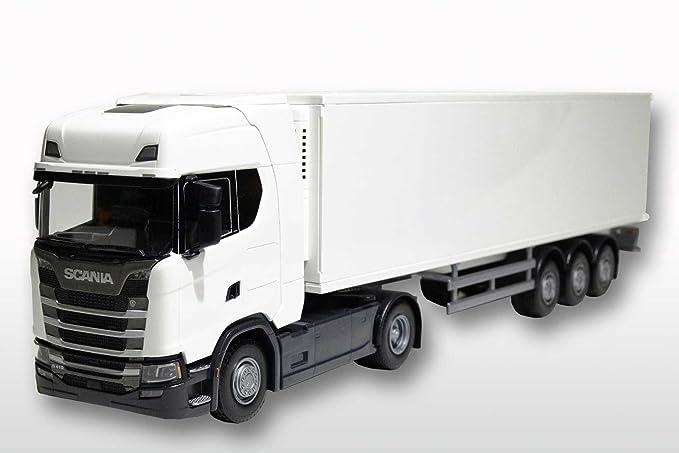EMEK - EM86002 - Scania Next Generation rimorchio 1:25, bianco