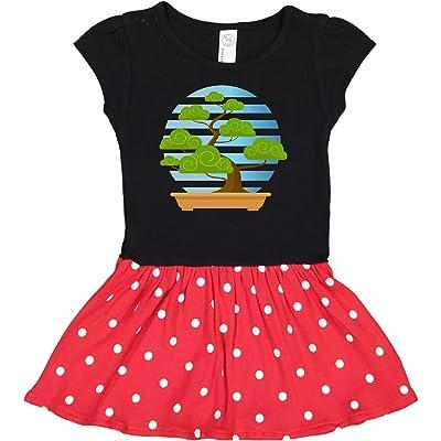 inktastic Bonsai Tree Garden Toddler Dress: Clothing