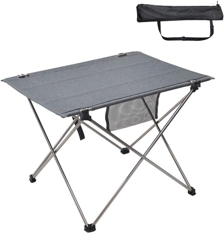 Bag Folding Camping Table Light Weight Portable Outdoor Picnic Aluminium Frame
