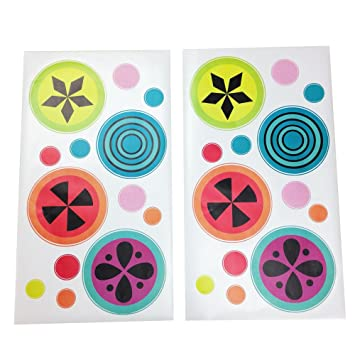 Pink Turquoise Purple Green One Grace Place Magical Michayla Wall Decals Orange Black