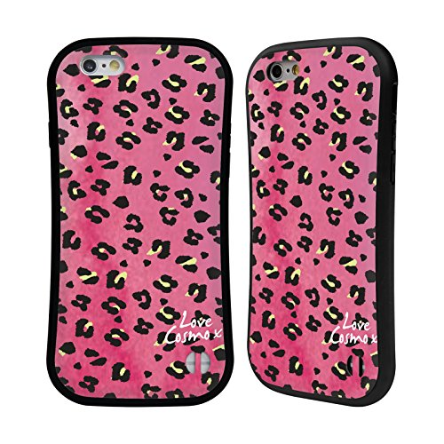 Official Cosmopolitan Washed Leopard Totally 80S Hybrid Case for Apple iPhone 6 / 6s