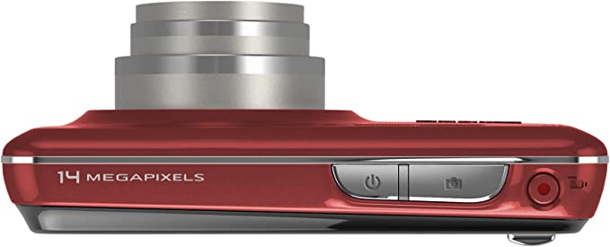 Kodak Easyshare Touch M577 Digitalkamera 3 Zoll Rot Kamera