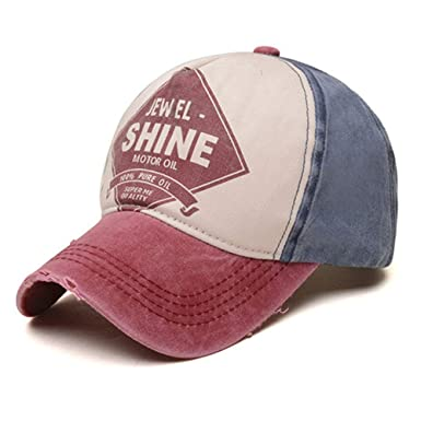 d6c550ad338073 Image Unavailable. Image not available for. Color: EXF Jewel Shine Fashion  Baseball Cap Men and Women Bone Snapback Caps ...