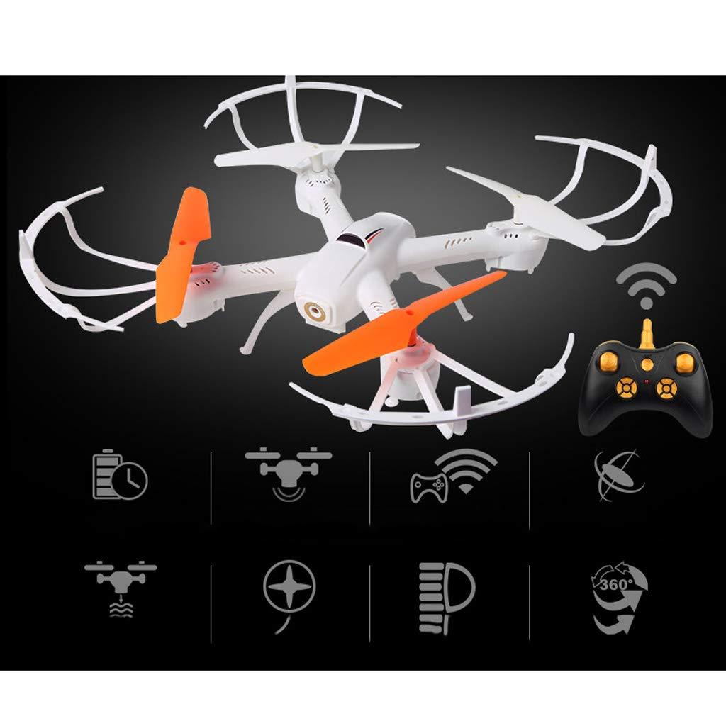 WeißAN-Drone Drohne Professionelle Fernbedienung Flugzeuge HD Luft Drohne Kinderhubschrauber Laden Shake Flugzeuge Spielzeug [UAV] einfach zu bedienen FPV 1 batteryC 32.532.510cm