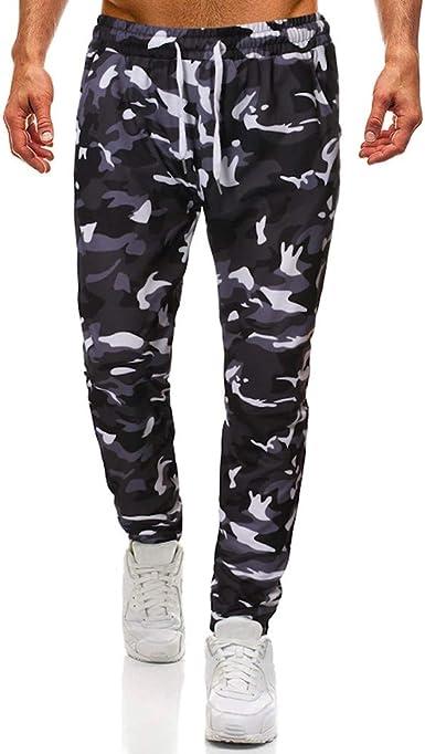 Pantalon Largo Para Hombre Moda Otono Pantalones De Camuflaje Pantalones Militares Comodos Pantalones Cargo Camuflaje Amazon Es Ropa Y Accesorios