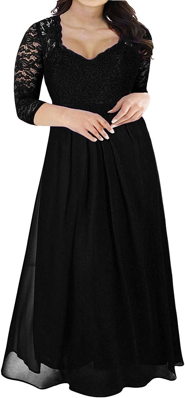 V Neck Sleeveless Vintage Plus Size Bridesmaid Formal Maxi Dress Nemidor Womens Deep