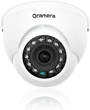 Q-camera Mini Dome Security Camera 1080P 2MP 4 in 1 TVI/CVI/AHD/CVBS 1/2.9