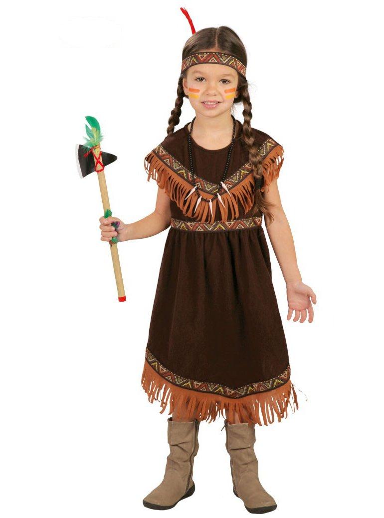 Disfraz de india sioux para niña - 7-9 años: Amazon.es: Juguetes y ...