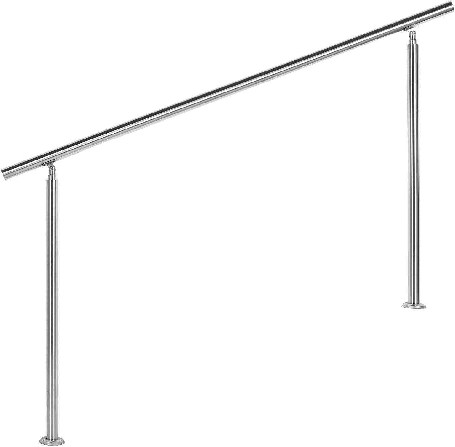 Barandilla acero inox 160cm Pasamanos escalera Parapeto