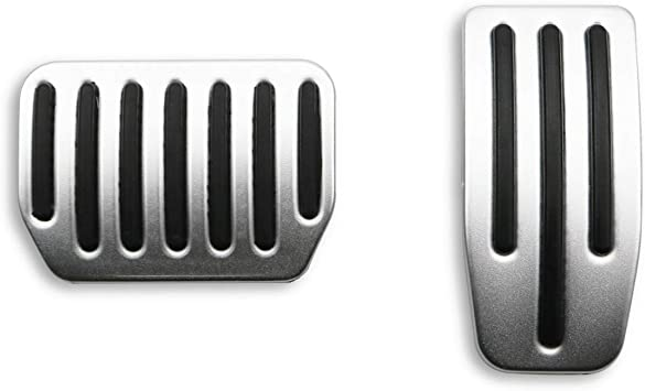 R RUIYA Non-Slip Performance Gas /& Brake Pedals Foot Pedal Pads for Tesla Model 3 Auto Aluminum Pedal Covers Set of 2
