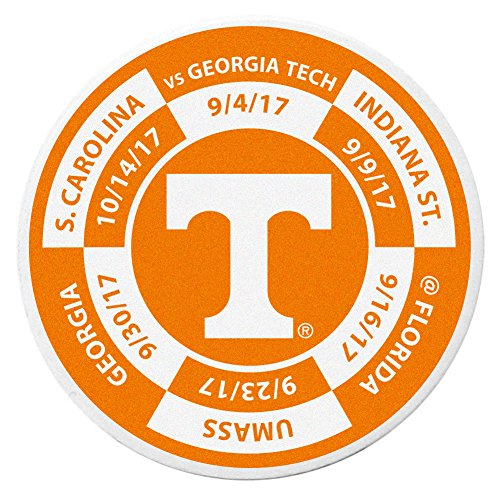 (Siskiyou NCAA Tennessee Volunteers Schedule Golf Ball Marker Coin)