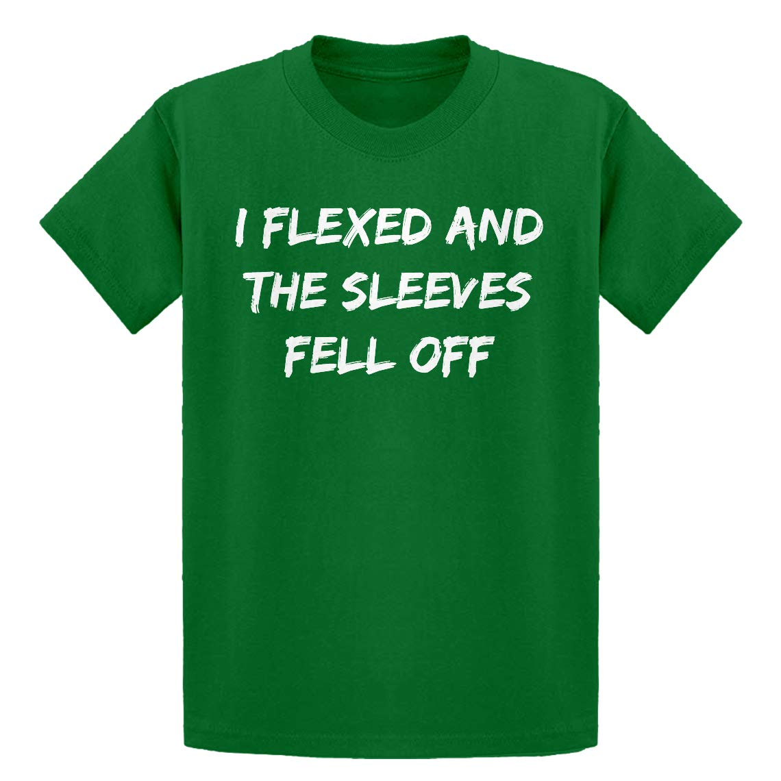 Indica Plateau Youth I Flexed and The Sleeves Fell Off Kids T-Shirt