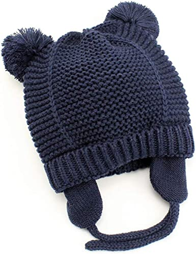 Boy Baby Infant Winter Warm Crochet Knit Hat Beanie Cap Cute Toddler Kids Girl