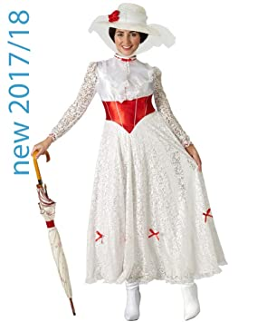 Grand Heritage - Disfraz Mary Poppins Ad, L (16 -18 años)