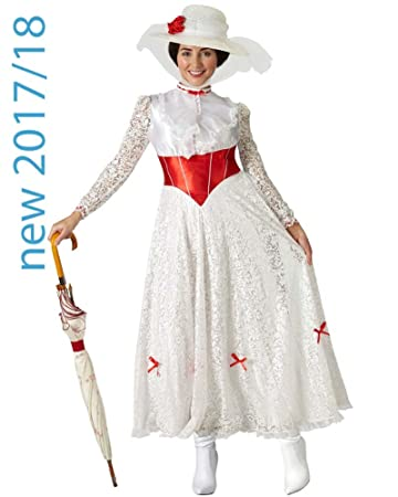 kostengünstig 100% hohe Qualität herausragende Eigenschaften Rubie 's Offizielles Mary Poppins Damen-Kostüm, Verkleidung ...
