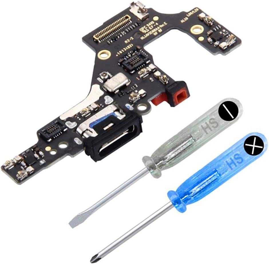 MMOBIEL Conector Dock de Carga de Reemplazo Compatible con Huawei P10 Flexcable Incl. Destornilladores