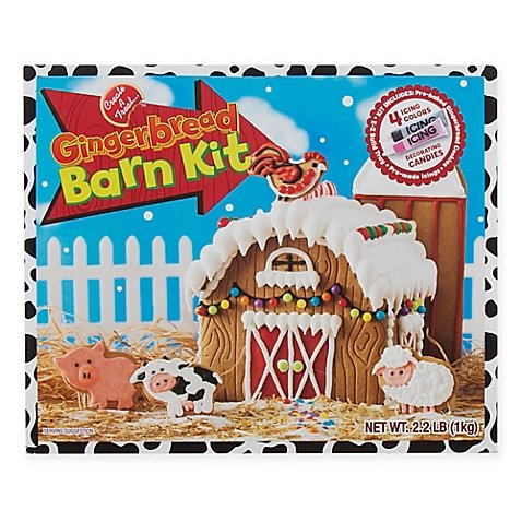 Create a Treat Gingerbread Barn - Ingredients Gingerbread House