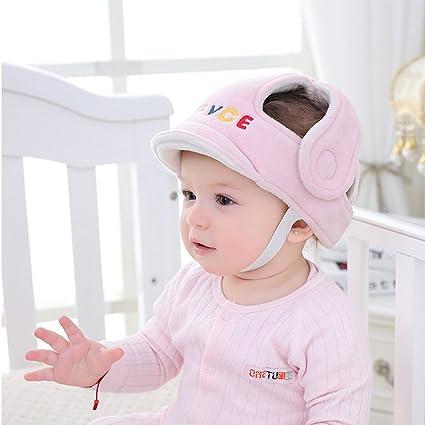 Protector de cabeza para bebé, casco de bebé ajustable, casco para bebé/ casco