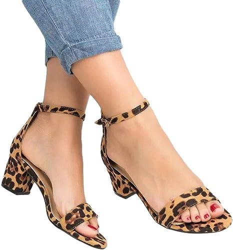 Women Leopard Print Ladies Ankle