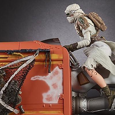 Star Wars The Black Series Rey's Speeder (Jakku) and Figure: Toys & Games