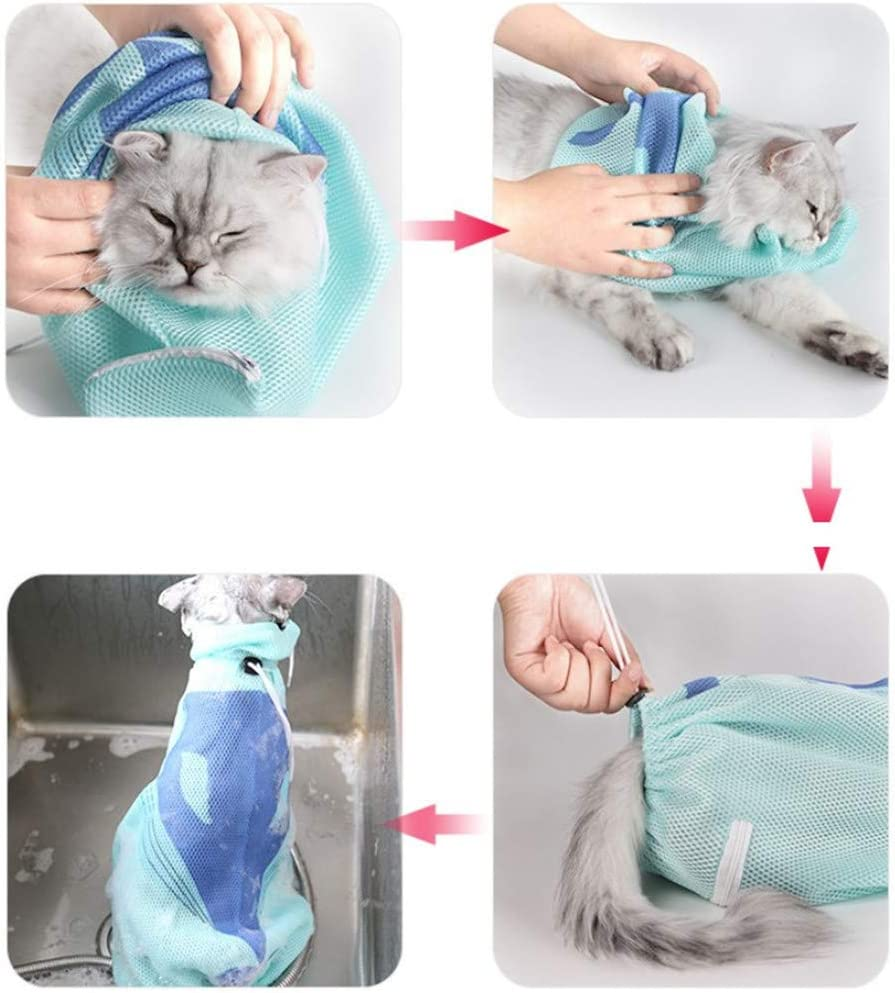 Csheng Transportin para Gatos Mochilas para Gatos Tela de Transporte de Mascotas U/ña de Gato Cuidado Port/átil de Transporte de Mascotas