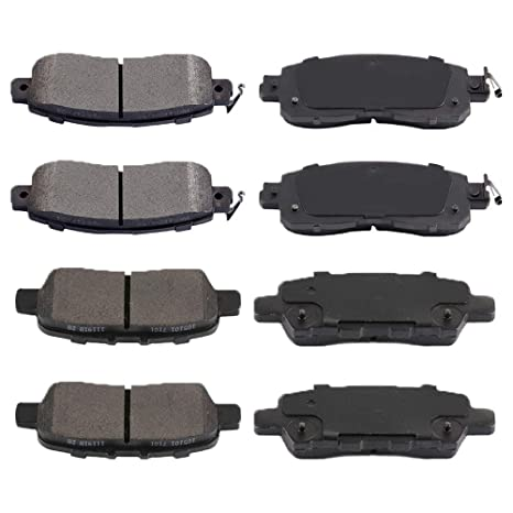 2013 2014 2015 For Nissan Altima Front and Rear Ceramic Brake Pads