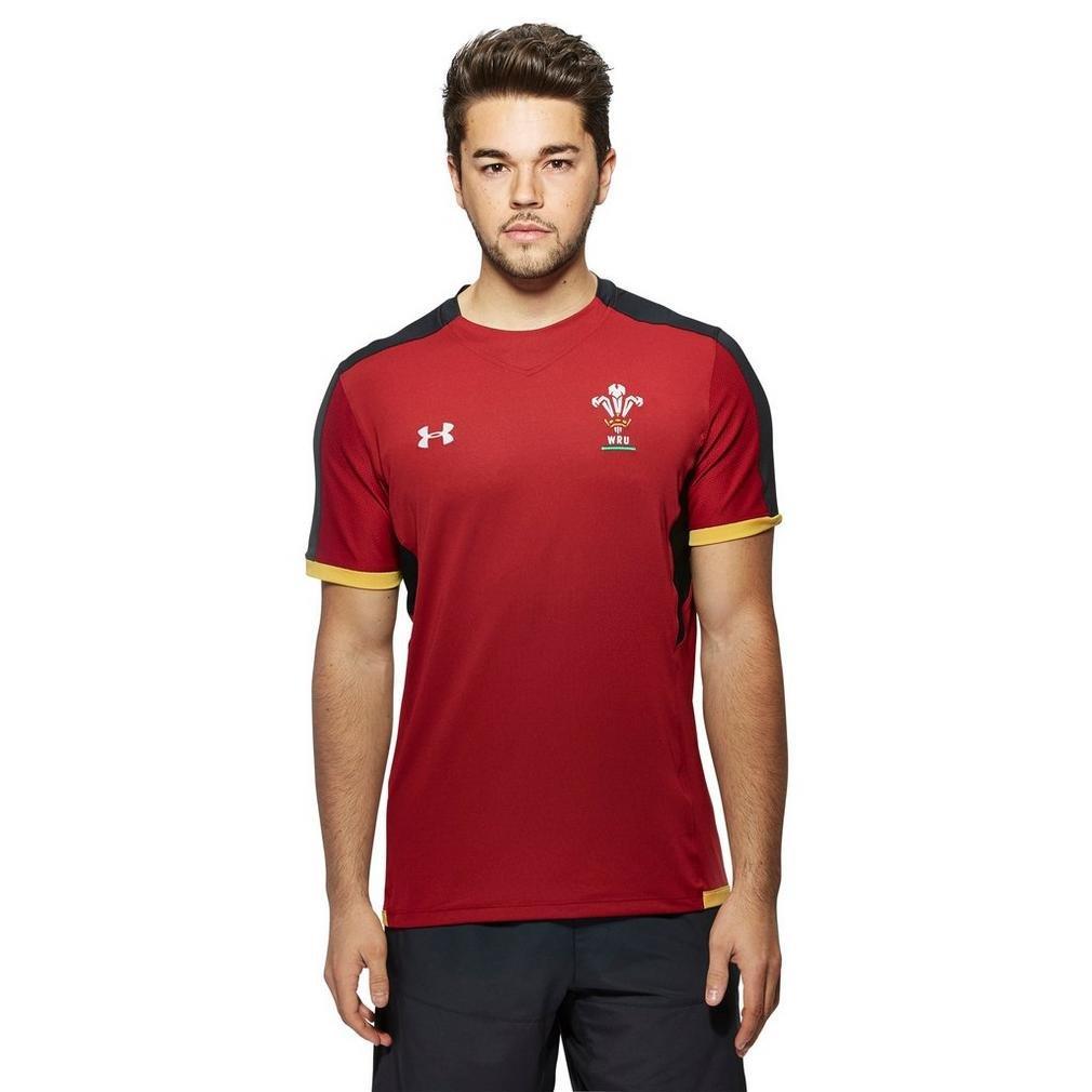 2015-2016 Wales Rugby WRU Training Tee (Red) B013PETM42 レッド 3L