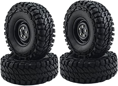 1//10 RC 1.9 inch Wheels Rims w// screw for HPI Tamiya RC4WD Crawler On-Road 4pcs