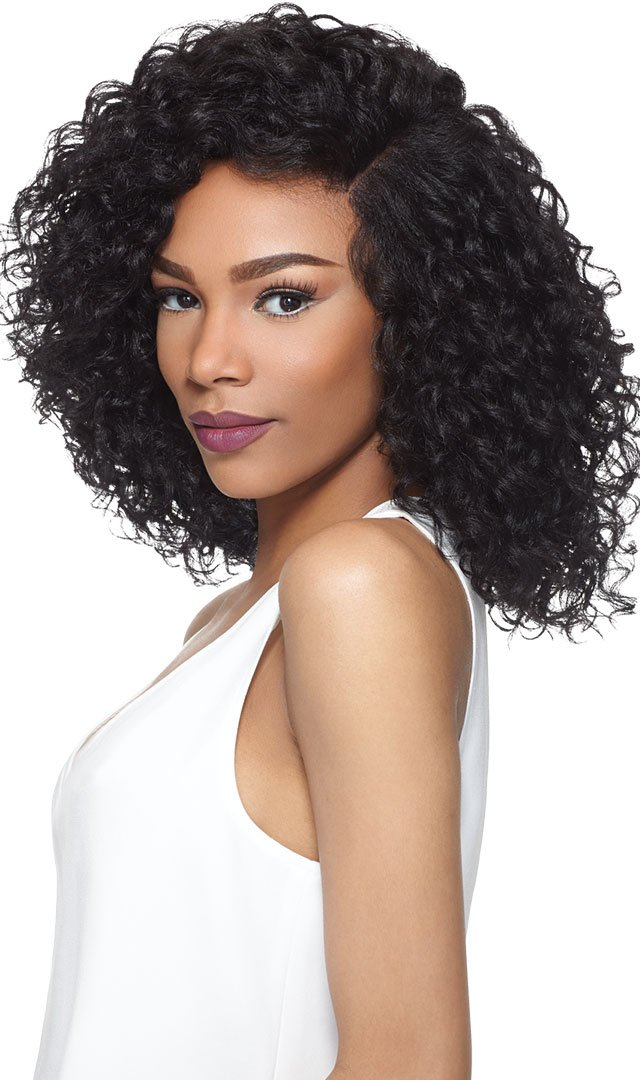VALENTINA (1B Off Black) - Outre Synthetic Swiss Silk X Lace Front Wig