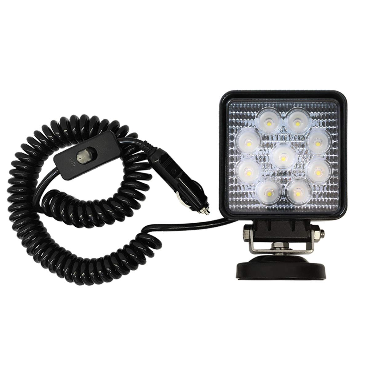 27W LED Work Light Portable Automotive LED Flood Light Off Road Flood Beam Lamp Magnetic Flood Light Talin Factor