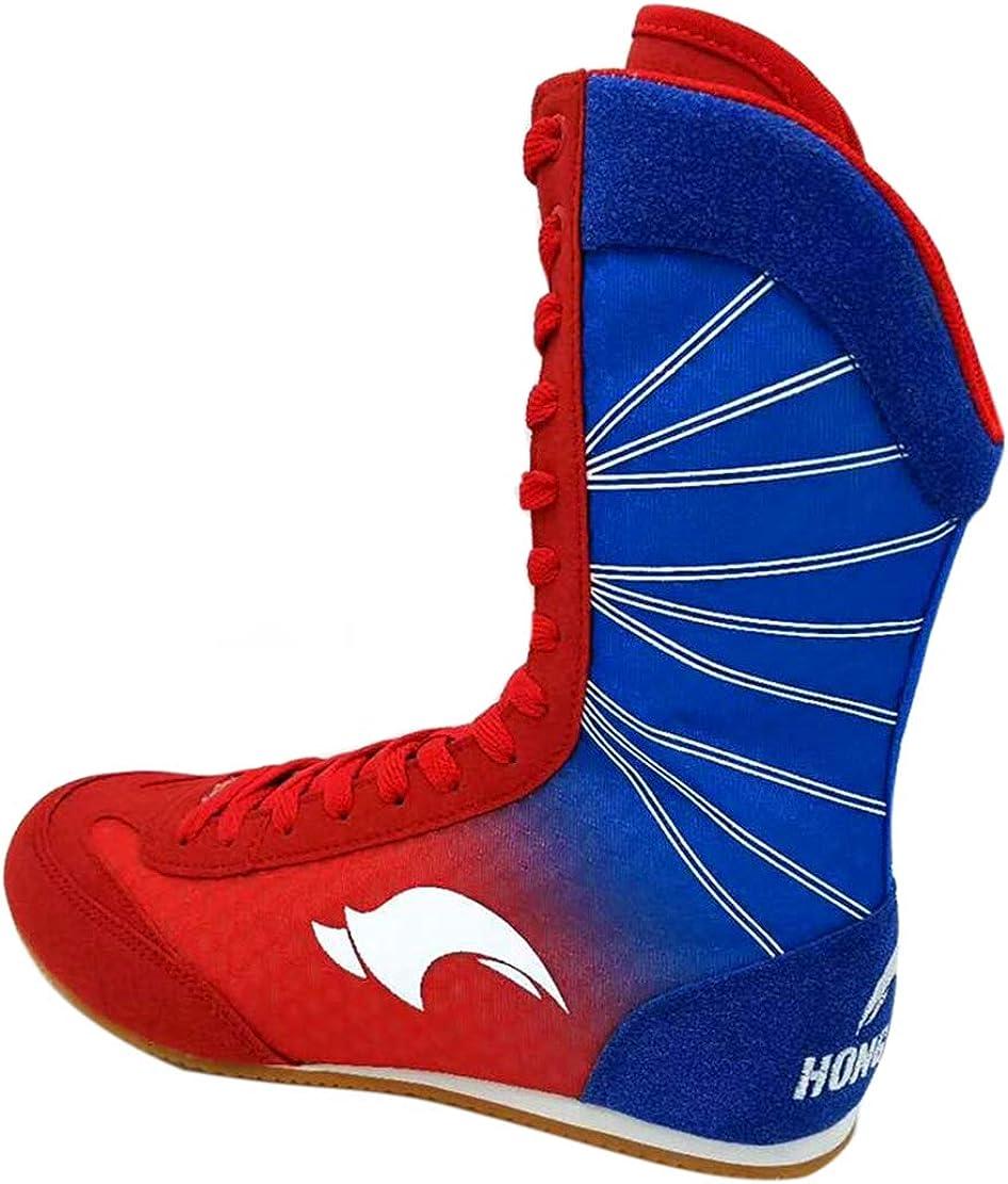 Day Key Chaussures de Lutte Respirante Chaussures de Boxe pour Hommes Femmes Enfants Gar/çons et Filles