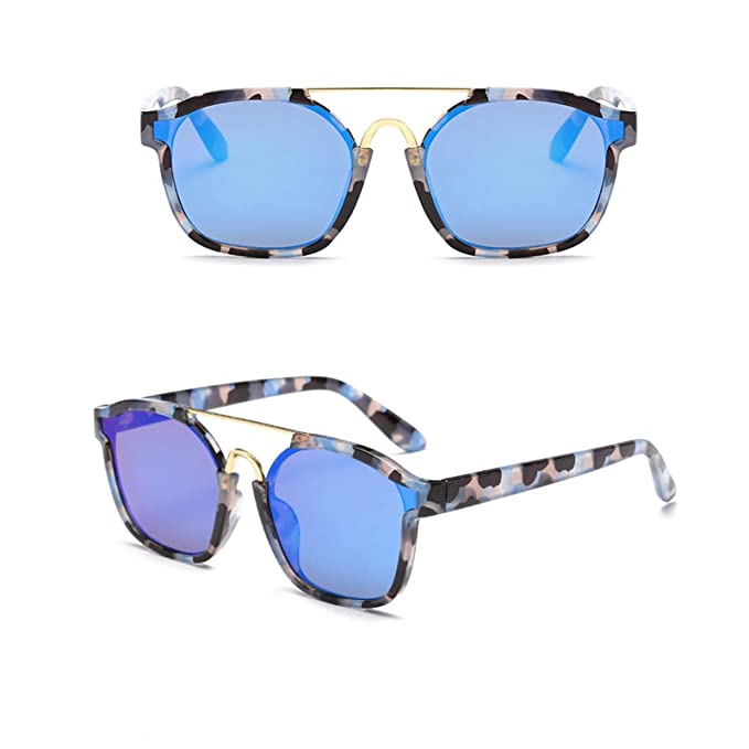 ANAZOZ Gafas de Sol Lente Azul Gafas de Sol de Mujer UV400 ...