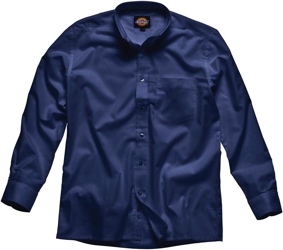 Dickies - Camisa Oxford de hombre, Azul, SH64200 NV 15: Amazon.es: Bricolaje y herramientas