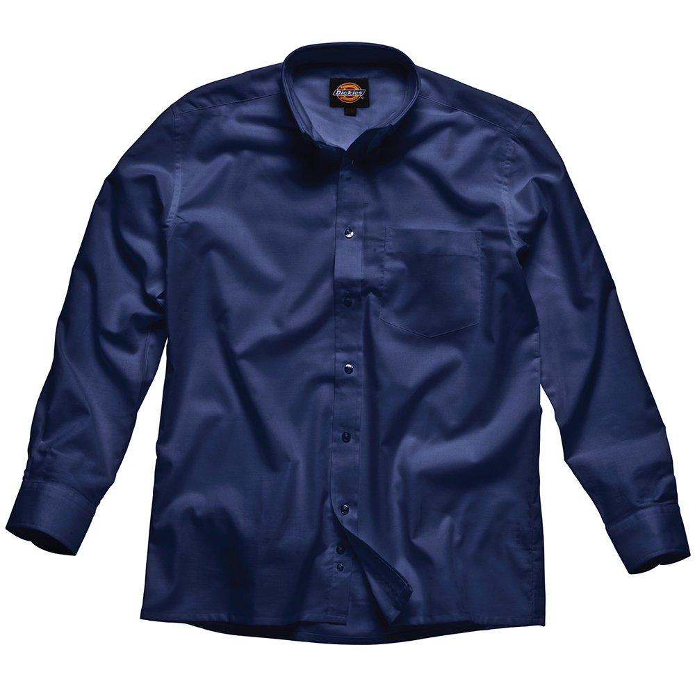 TALLA 43. Dickies - Camisa Oxford de hombre, Azul, SH64200 NV 17
