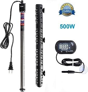 Amazon.com: Calentador de acuario Soyon de 500 W, calentador ...
