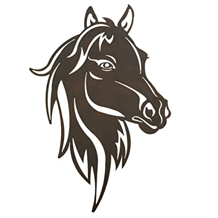 Collections Etc Metal Western Horse Head Wall Art Brown  sc 1 st  Amazon.com & Amazon.com: Collections Etc Metal Western Horse Head Wall Art Brown ...