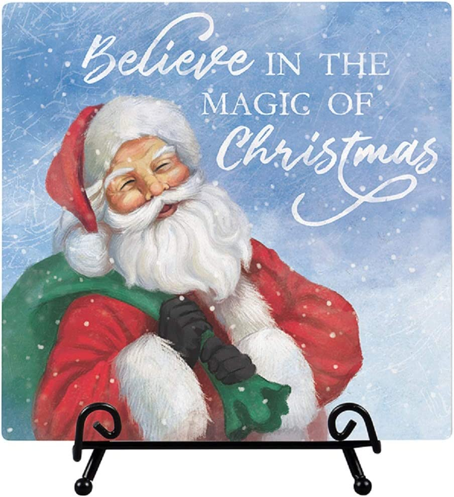 Carson Believe in The Magic Easel Plaque