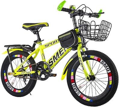 Bicicleta Infantil LLL 18/20/22 Pulgadas para niños y niñas de 6 a ...